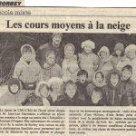 Année scolaire 1992 :