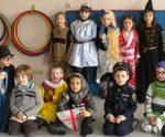 Spectacle de cirque à la fête de l'école