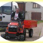 Achat d'un tracteur et d'une remorque :