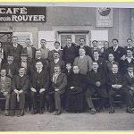 Année scolaire 1934-1935 2ème rang 5ème en partant de la gauche (en tablier noire) Renée Rouyer