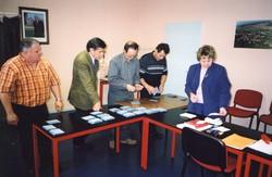 Dépouillement élections présidentielles 2002