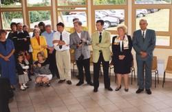 Inauguration de la salle Christiane Laurillard 24 juin 2000